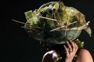 Chapeaux de mariage type asie